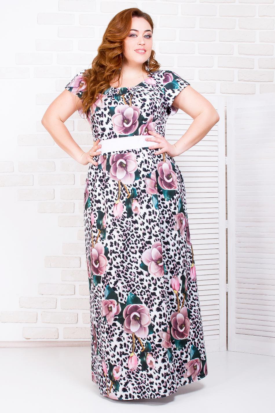 7454246b0b89338 Женские платья больших размеров оптом, купить платья больших ...
