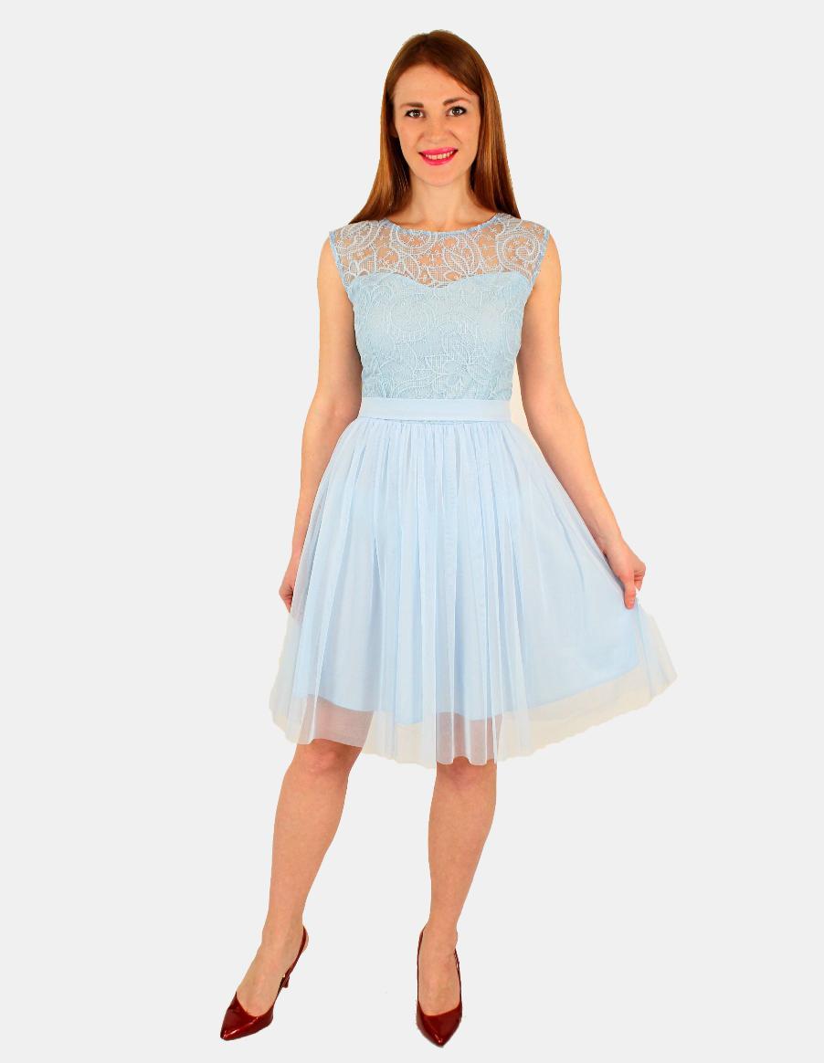 7c6783d5cbc2075 Платье с пышной юбкой из фатина купить оптом в Украине от ...